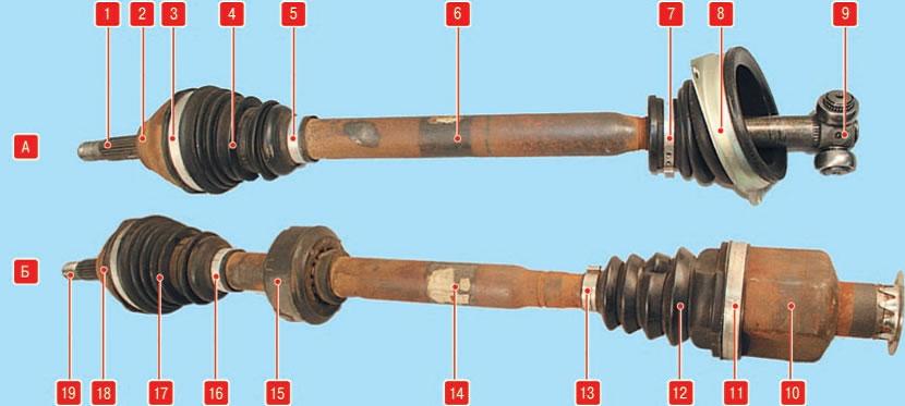 процесс снятие приводного вала renault symbol