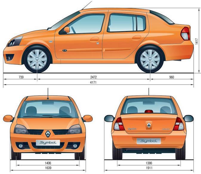 Ремонт автомобиля рено симбол